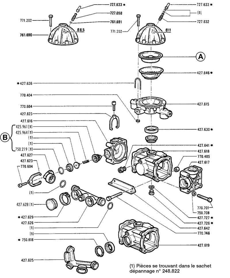 membrane bouchon pour 60  20 1800  17