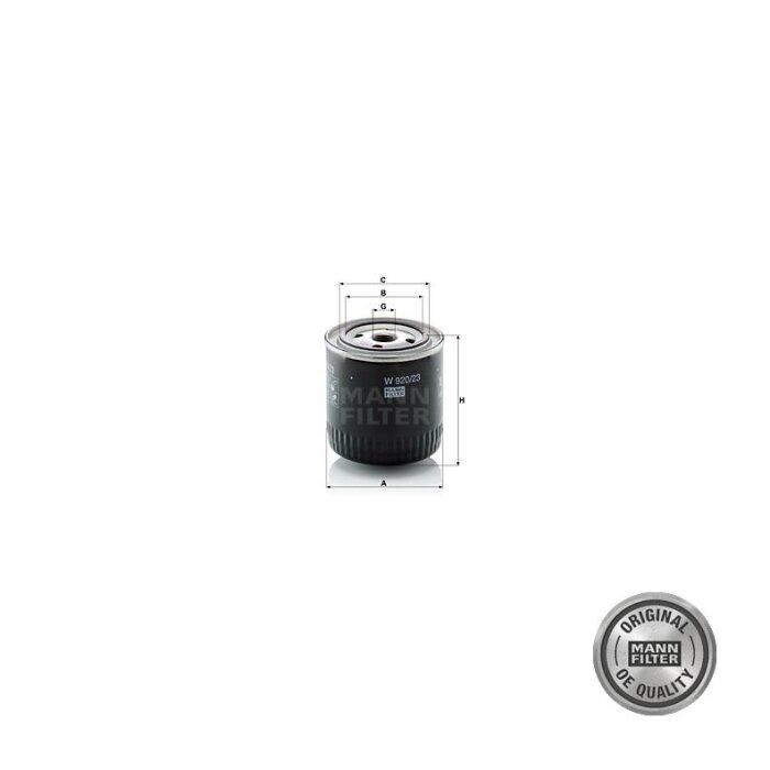 Filtre à huile de première monte pour Case IH 423-1711154_copy-30
