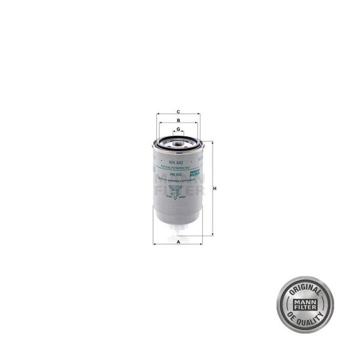 Filtre à carburant de première monte pour Case IH 633-1742317_copy-30