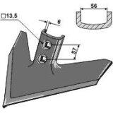 Soc patte doie adaptable largeur : 250 mm cultivateur John Deere (N 182045)-122932_copy-20