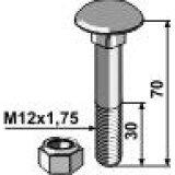 BOULON A TÊTE BOMBEE AVEC ECROU A FREINAGE INTERNE VADERSTAD FILET M12X1.75 COURT 50061207000-121361_copy-20
