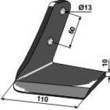Aileron adaptable gauche 110 mm déchaumeur Farmet Turbulent (3002403)-122765_copy-20