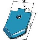 Pointe de soc plaqué dacier dur côté envers adaptable déchaumeur Amazone (XL031, XL049)-122778_copy-20