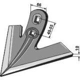 Soc patte doie adaptable largeur : 250 mm cultivateur Otma-120639_copy-20