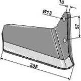 Aileron adaptable droit déchaumeur Vaderstad (447150, paire droite / gauche 449859)-123350_copy-20