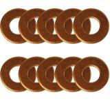 Joint de nez dinjecteur (10) 10 x 21 x 2mm pour Massey Ferguson 5365 (Brasil)-1496563_copy-20