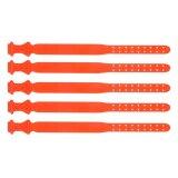 Lot de 5 colliers en plastique orange pour ovins-1709851_copy-20