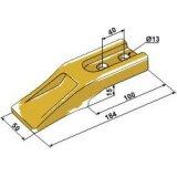 Dent de godet type Mini Z 184 mm x 50 mm entraxe 40 mm-121660_copy-20