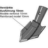 Soc patte doie à échange rapide renforcé Bourgault adaptable largeur : 100 mm vibroculteur Universel-123898_copy-20