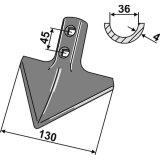 Soc cœur adaptable 130 x 4 mm houe et bineuse Universelle-1794093_copy-20
