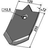 Soc standard adaptable 255 x 120 x 12 mm déchaumeur Unia (AP-84, 1738050010)-1793539_copy-20