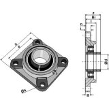 Palier UCF adaptable 250 x 90 mm rouleau Universel-1794324_copy-20