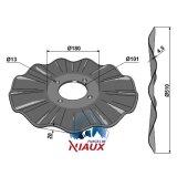 Disque ondulé 4 trous à fond plat adaptable Niaux 510 x 4,5 mm déchaumeur Salford (CT512013)-1128081_copy-20