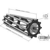 Rouleau tube adaptable 3000 x 400 mm matériel Lemken (4231034)-1794344_copy-20