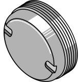 Bouchon de palier de support de disque déchaumeur Simba (P14594)-1126965_copy-20