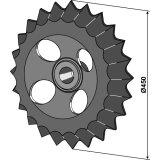 Roue dentée diamètre 450 mm Guttler (75408000)-1127787_copy-20