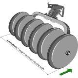 Elément circulaire pour rouleaux packer largeur : 1850 mm diamètre 508 mm-1129199_copy-20