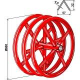 Rouleau à triple anneaux en forme de toit diamètre 600 mm Vogel et Noot (G0322700)-1128843_copy-20