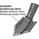 Soc patte doie à échange rapide renforcé Bourgault adaptable largeur : 140 mm vibroculteur Universel-124300_copy-20