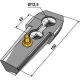 Adaptateur complet adaptable Série 410 longueur : 160 mm cultivateur Lemken-124317_copy-20