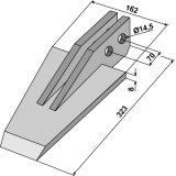 Bêche type NY largeur 162 mm pour machine à bêcher Celli-1128015_copy-20