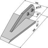 Bêche type moyen largeur 210 mm pour machine à bêcher Sicma Miglianico-1128007_copy-20