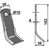 Couteau Y pour broyeur Orec 103 x 30 x 4 mm-138187_copy-20