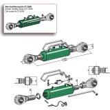 Barre de poussée hydraulique avec tirant à rotules catégorie III L/min : 625 mm L/max : 865 mm-138542_copy-20