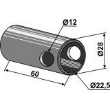 ENTRETOISE DE REDUCTION CATEGORIE II-I POUR CROCHET AUTOMATIQUE POUR BARRE INFERIEURE MODELE 2-138791_copy-20
