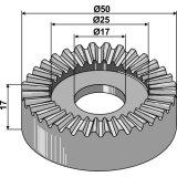 Disque de réglage 40 créneaux diamètre 50-25-17-138783_copy-20