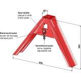Triangle côté outil pour catégorie I, catégorie II et catégorie lll Universel-139283_copy-20