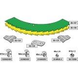 Kit de lames de scie droite et gauche carburées adaptable bec densileuse Kemper 390-1794266_copy-20