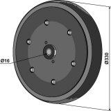 Roue complète adaptable 330 x 50 mm semoir Kverneland (AC487983)-1794456_copy-20