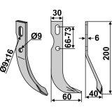 Lame modèle droit fraise rotative Agria-127434_copy-20