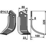 Lame modèle droit fraise rotative Breviglieri 0003061D-127522_copy-20