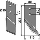 Couteau de rotalabour Kirpy modèle gauche-1751973_copy-20