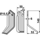 LAME DE FRAISE ROTATIVE MODÈLE DROIT PASQUALI 591-F901 (HP6)-128617_copy-20