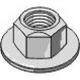 Ecrou standard hexagonal avec bride, auto-bloquant adaptable 10.9 M10 boulonnerie Universelle-121857_copy-20