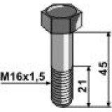 VIS A TÊTE HEXAGONALE AVEC FILET FIN M16X1,5 12.9 AMAZONE 0201200-131474_copy-20