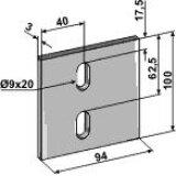 RACLOIR POUR ROULEAU PACKER ACIER 50CR4 TRAITE LELY 1.1645.9001.0-124374_copy-20