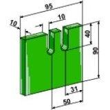 RACLOIR PLASTIQUE GREENFLEX POUR ROULEAU PACKER HOWARD 180368-124418_copy-20