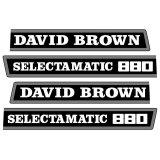 Autocollant pour David Brown 880 Selectamatic-1341858_copy-20