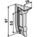 CLAVETTE POUR SOC DE SEMOIR EN METAL BECKER 58383-125917_copy-20