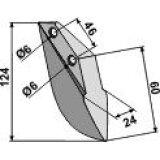 Soc de semoir en métal pour machines Rabe (9002.12.03)-125961_copy-20