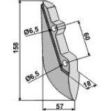 Soc de semoir en métal pour machines Reform (300.423.513)-125965_copy-20