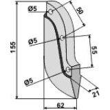 Soc de semoir en métal pour machines Reform (300.423.307-1)-125967_copy-20