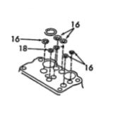 Joint de pompe de relevage pour Ford 3600 (86625105)-1761447_copy-20