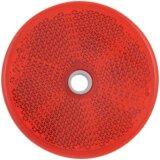 Catadioptre rond rouge adhésif avec perçage diamètre : 60 mm Dobmar-15216_copy-20