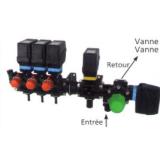 BLOC VANNE 3 VOIES AVEC 3 TRONCONS AVEC VANNE DE REGULATION ET VANNE GENERALE-145798_copy-20