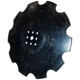 Disque crénelé 8 trous à fond plat adaptable Bellota 560 x 4 mm déchaumeur Agrisem Disco Mulch (TCS-DIS-531)-13707_copy-20
